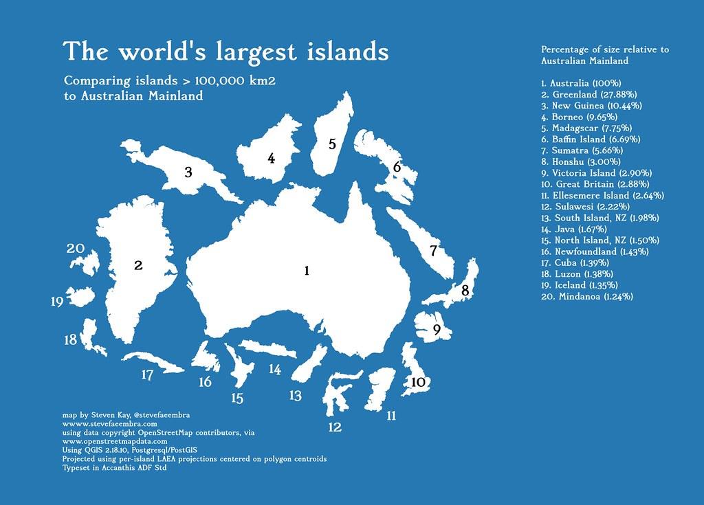 Greenland S Largest Island