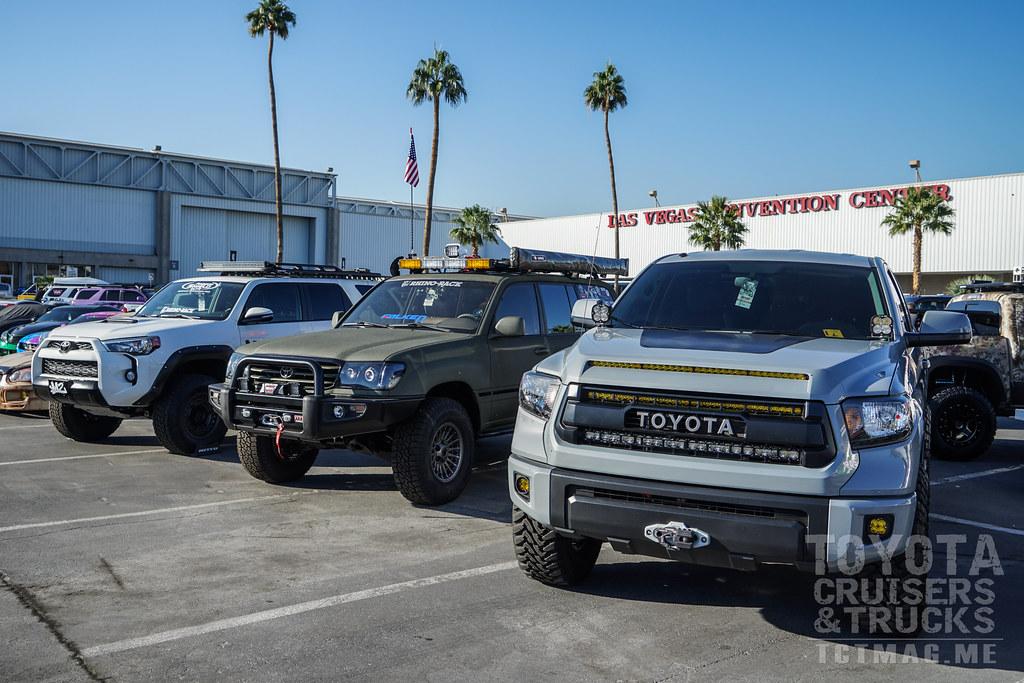 SEMA Show 2017 Part 2 Toyota Vehicle Display