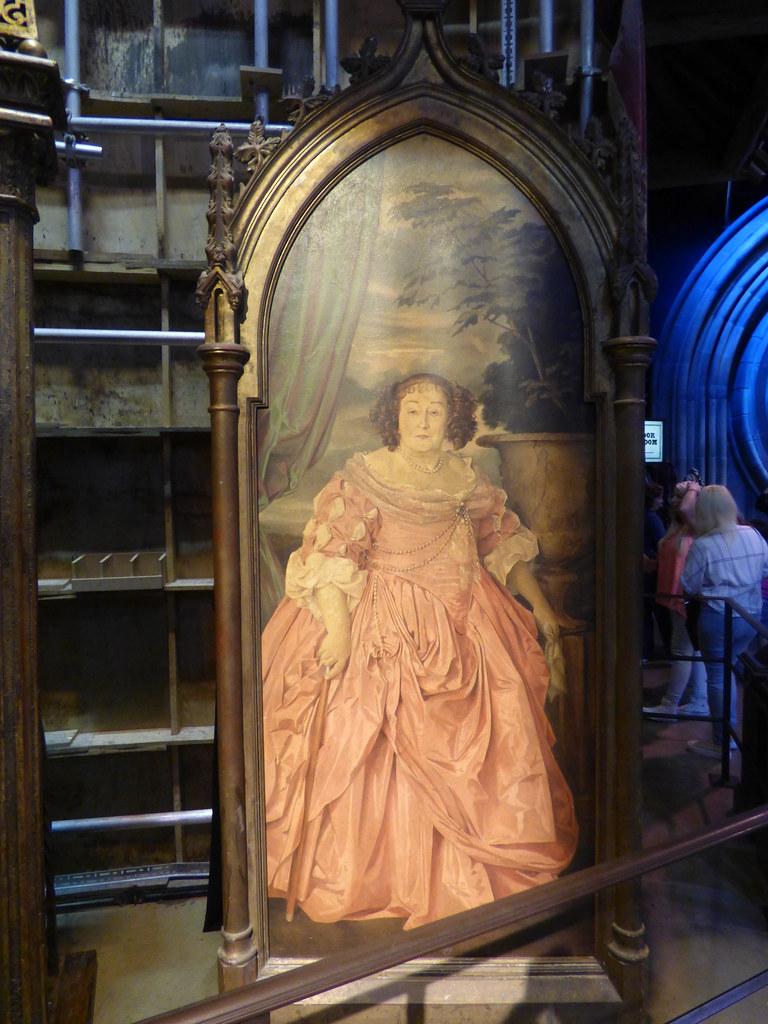 the fat lady harry potter warner brothers studio tour leav flickr