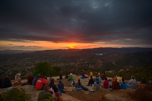 contemplative dinner mtn hike | by d nelson