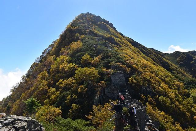 アサヨ峰 紅葉登山
