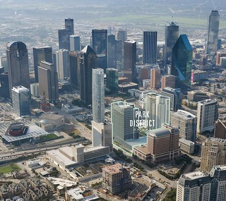 Park District's Facebook image from 08-19-16 of the completed project, currently under construction, Downtown Dallas | by skys the limit2