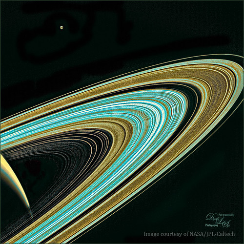 Image of Saturn's Rings from Cassini Mission
