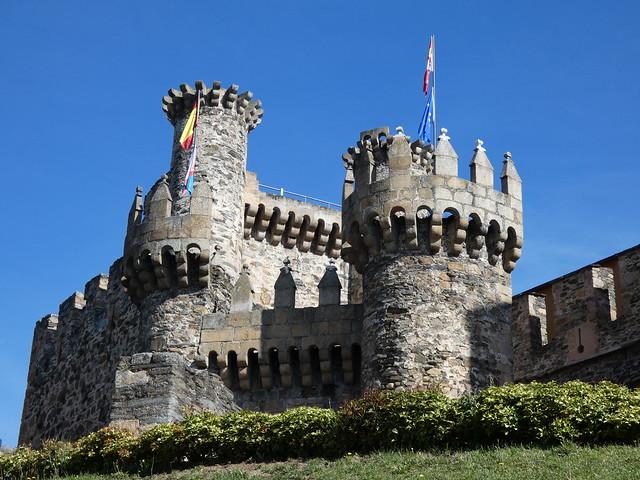 Castillo templario de Ponferrada (El Bierzo, León)