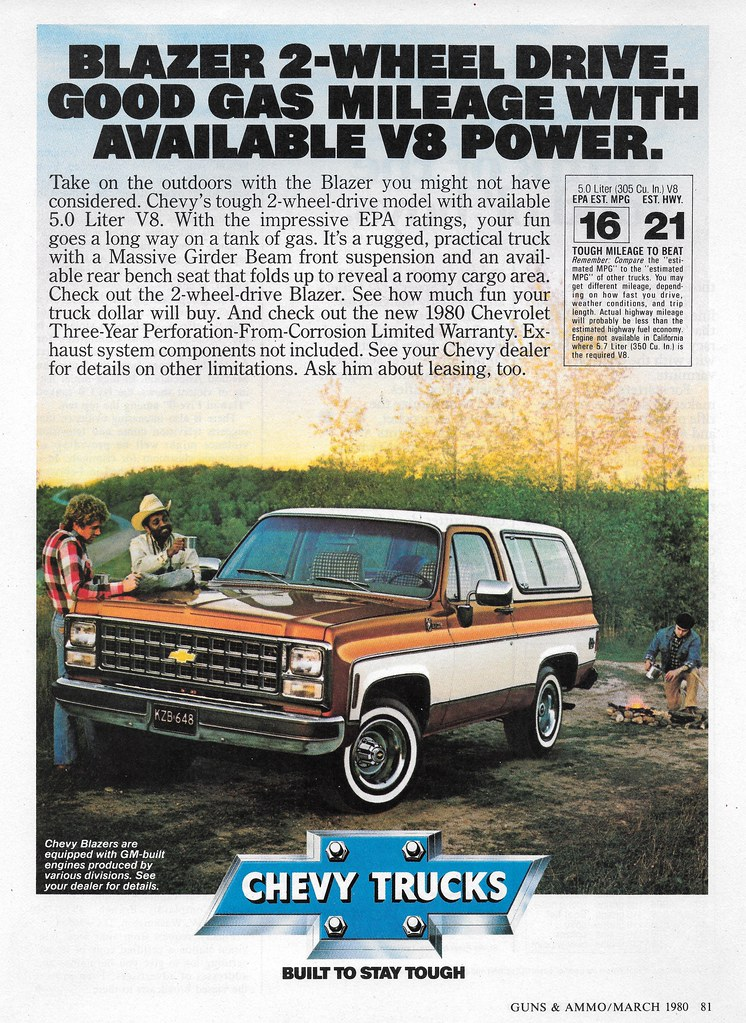 1980 Chevrolet Blazer Usa Michael Flickr