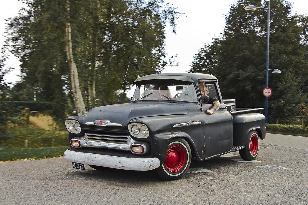 Chevrolet 31 Apache Stepside Pick Up Truck 1958 9753 Flickr
