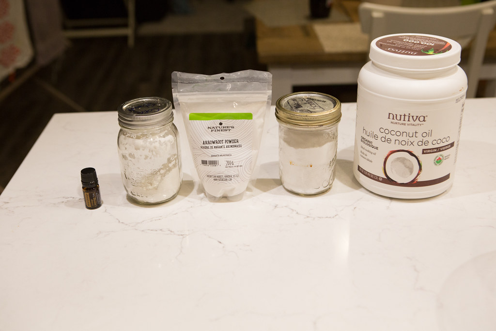 Making natural deodorant