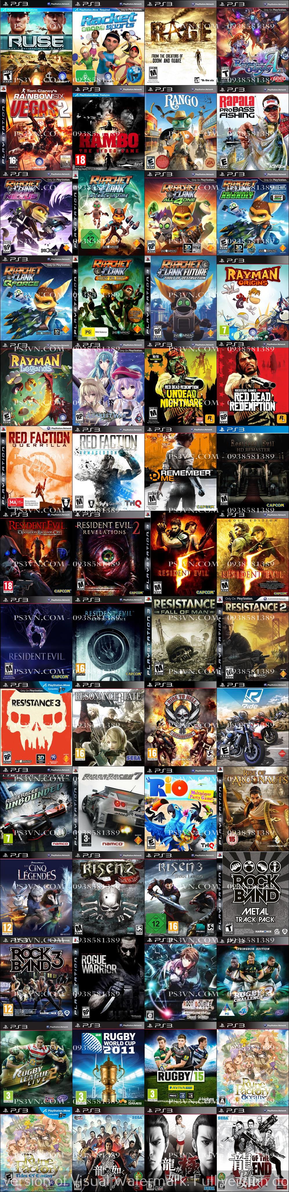 Chép Game PS3 tại nhà giá rẻ nhất TPHCM - PS3VN.COM - 36