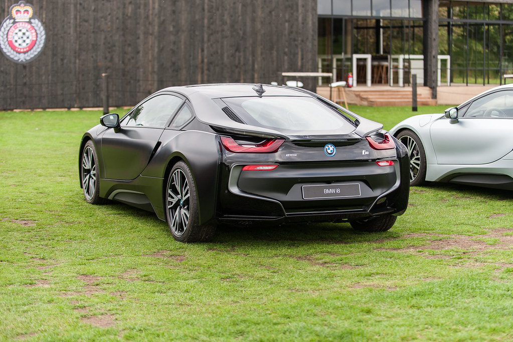 Bmw I8 Myth Edition Carbonschwarz Engine 1 499 Cc 3 Cyli Flickr