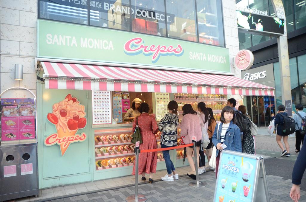 Resultado de imagen para Santa Monica Crepes harajuku
