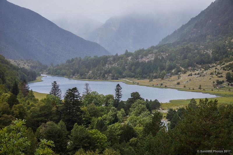 Estany de Llebreta desde la cascada del Sant Esperit