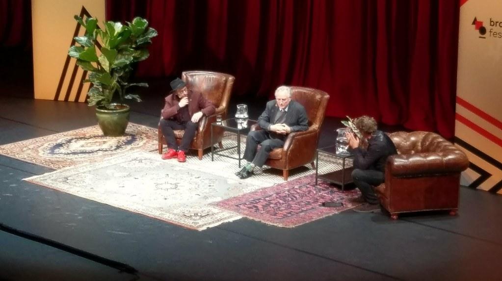 Lawrence Krauss en Richard Dawkins
