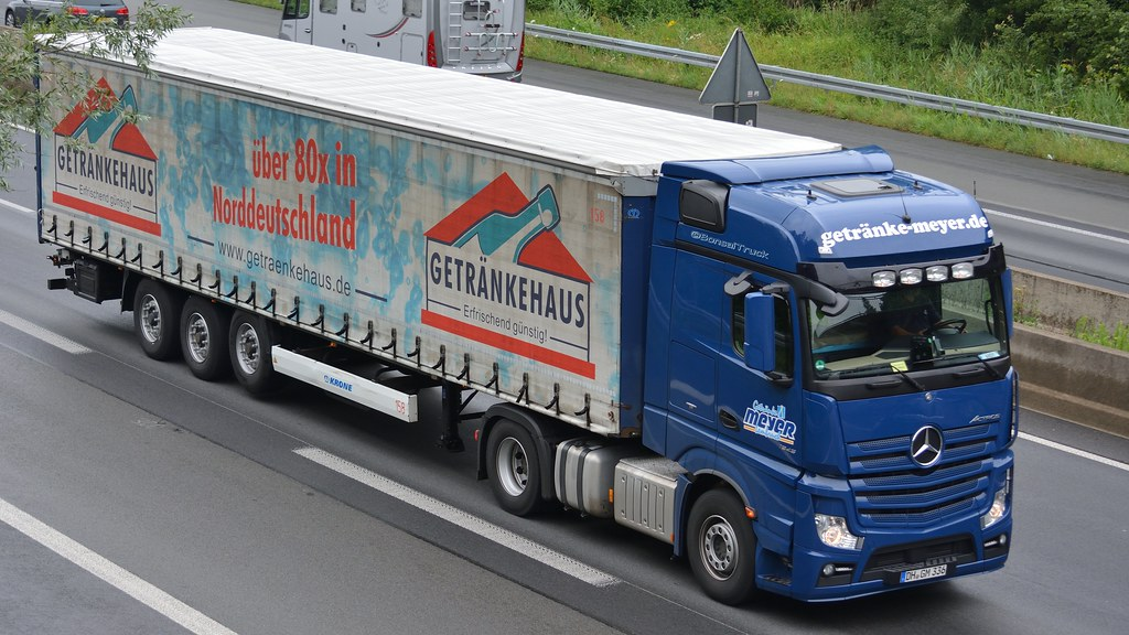 D - Getränke Meyer MB New Actros Gigaspace | BonsaiTruck | Flickr