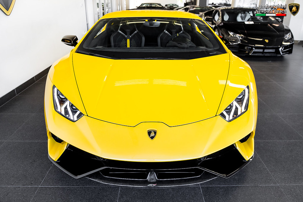 Giallo Inti Lamborghini Huracán Performante Flickr - Lamborghini newport beach car show 2018