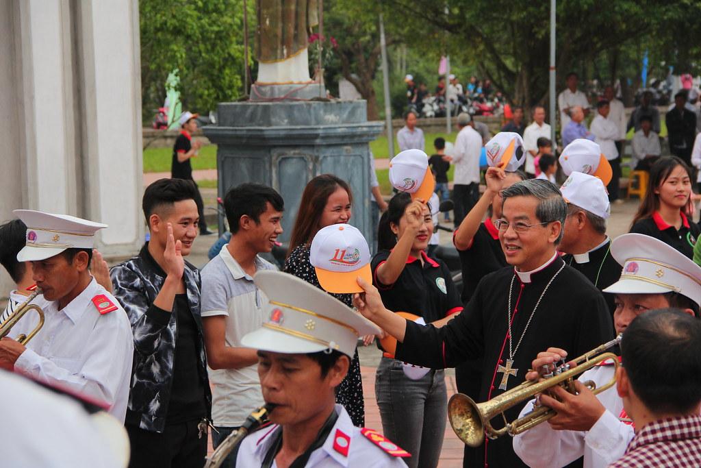 Gặp gỡ Đức Cha Giuse Nguyễn Năng - Lễ truyền thống SVCG Phát Diệm lần thứ XI