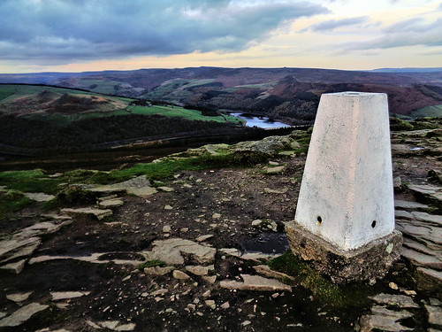 Trig Point on Win Hill