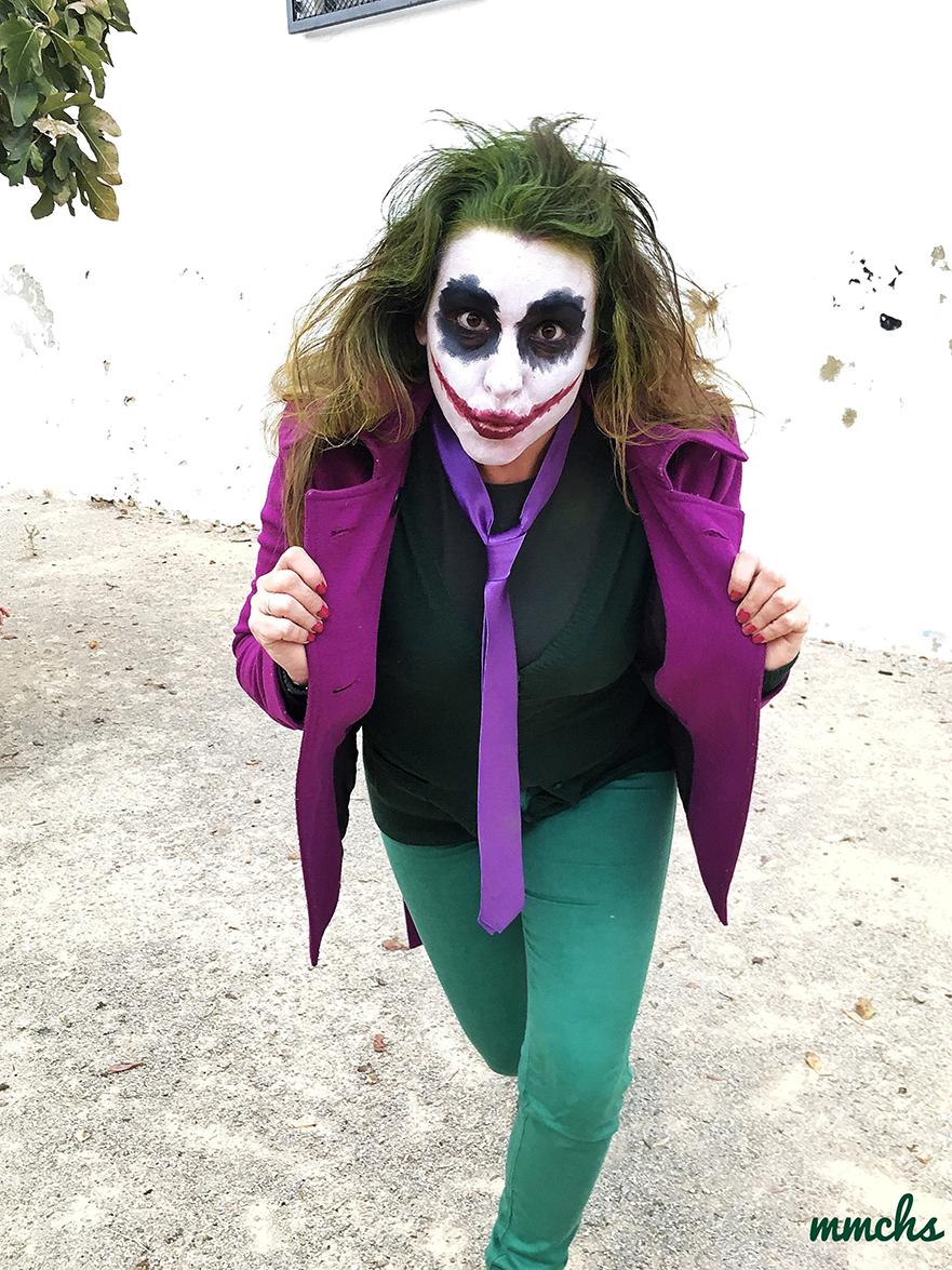 maquilla y disfraz de Joker adulto Halloween