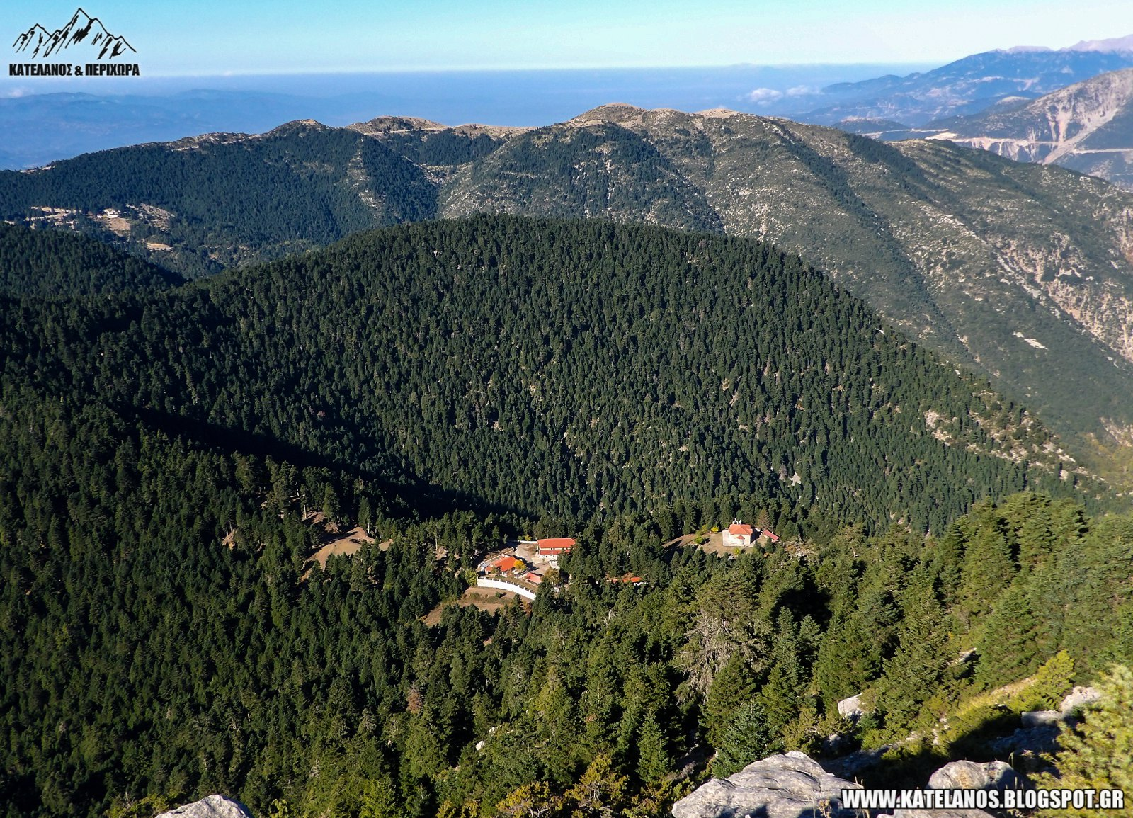 αγια κυριακη λεπτοκαρυα ορεινη ναυπακτια