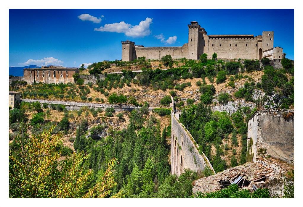 Ponte delle Torri Rocca Albornoziana (Spoleto) V