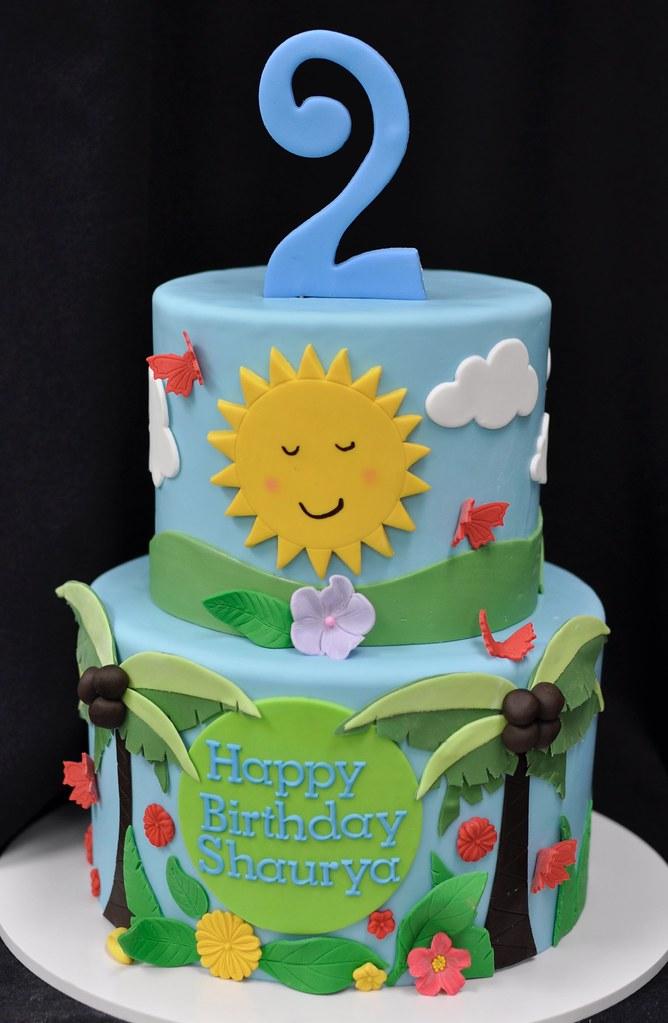 Tropical Birthday Cake Jenny Wenny Flickr