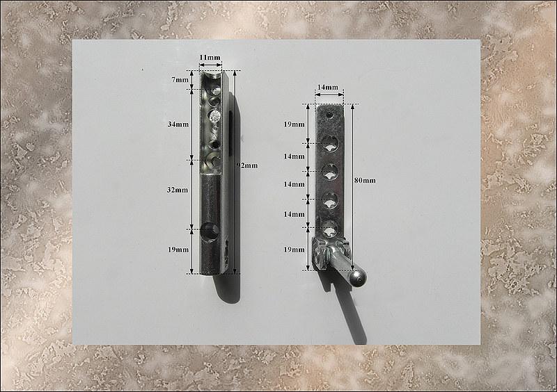 Maco Tilt And Turn Parts Bottom Pivot Hinge Assembly For