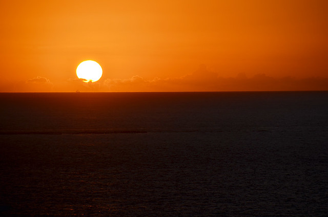 Sunset from Costa Adeje, Tenerife
