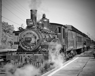 Locomotive #136 at south simcoe railway | by kirk lau