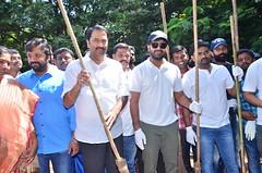 Mahanubhavudu Team Participate in Swachh Bharat