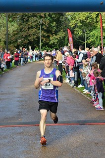 Crossing the finish line - Image by Mic Morris Torfaen 10k via Facebook