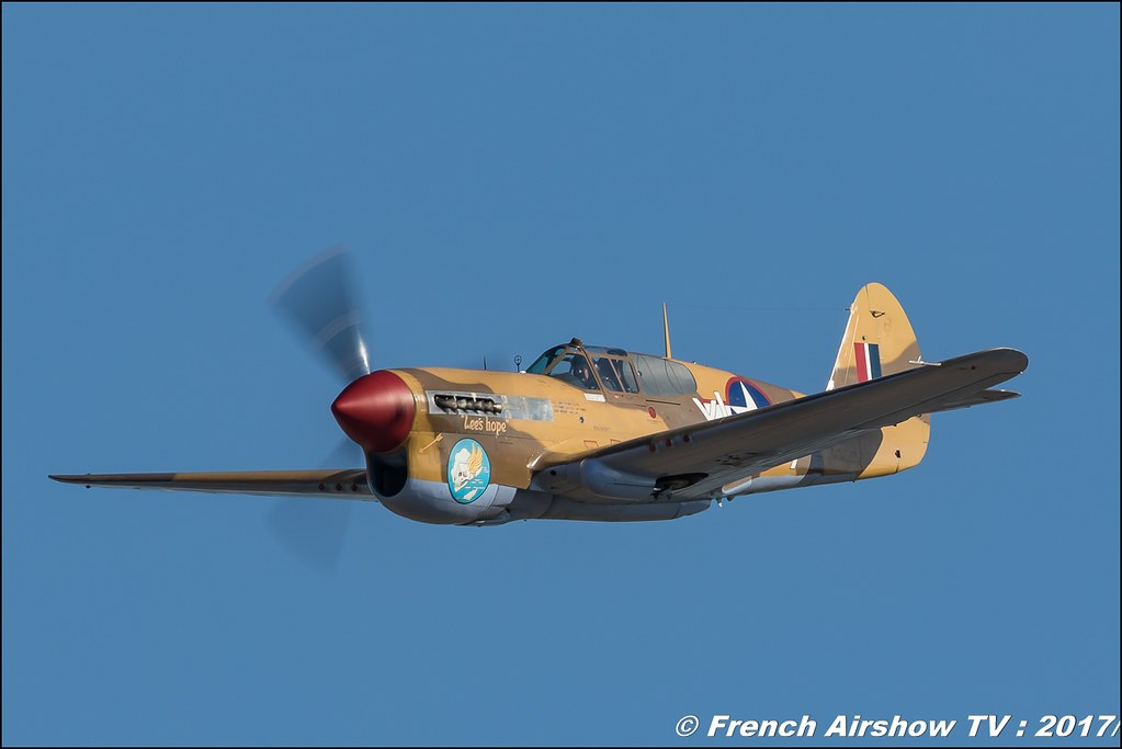 P-40F Warhawk , G-CGZP , The Fighter Collection , Avignon Air Show 2017 , Aéroclub Vauclusien , avignonairshow2017 , Meeting Aerien 2017