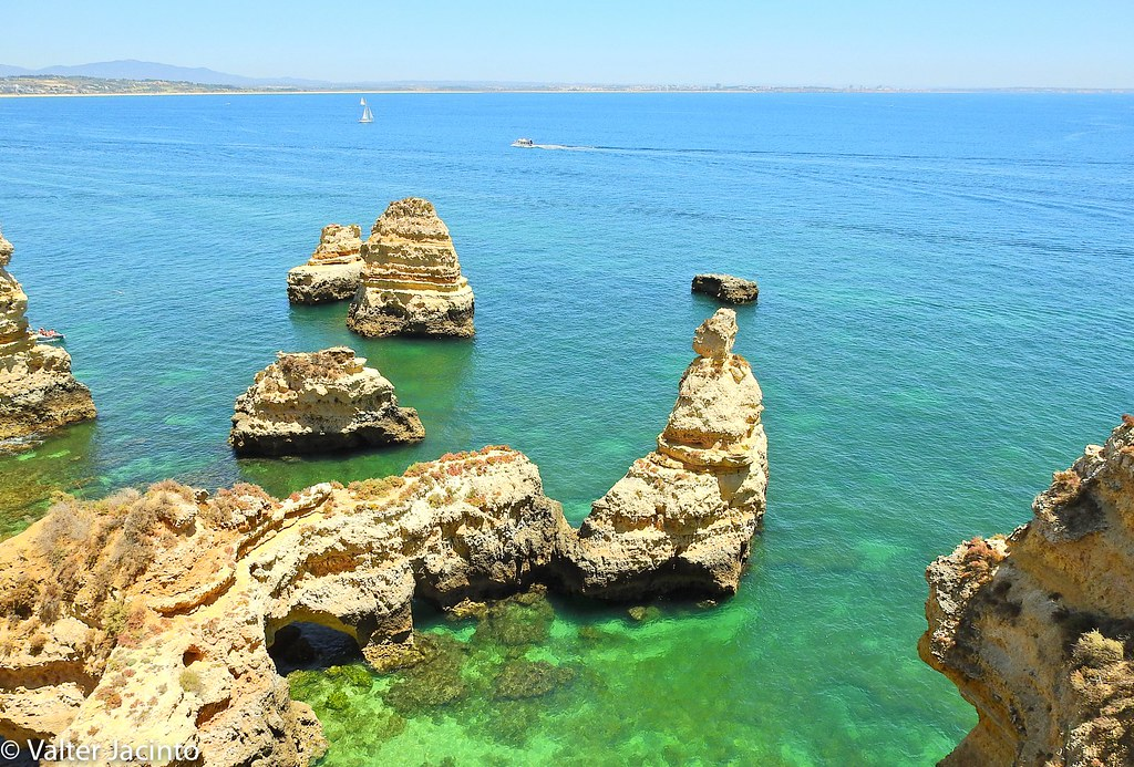 ponta da piedade lagos portugal location europe portu flickr