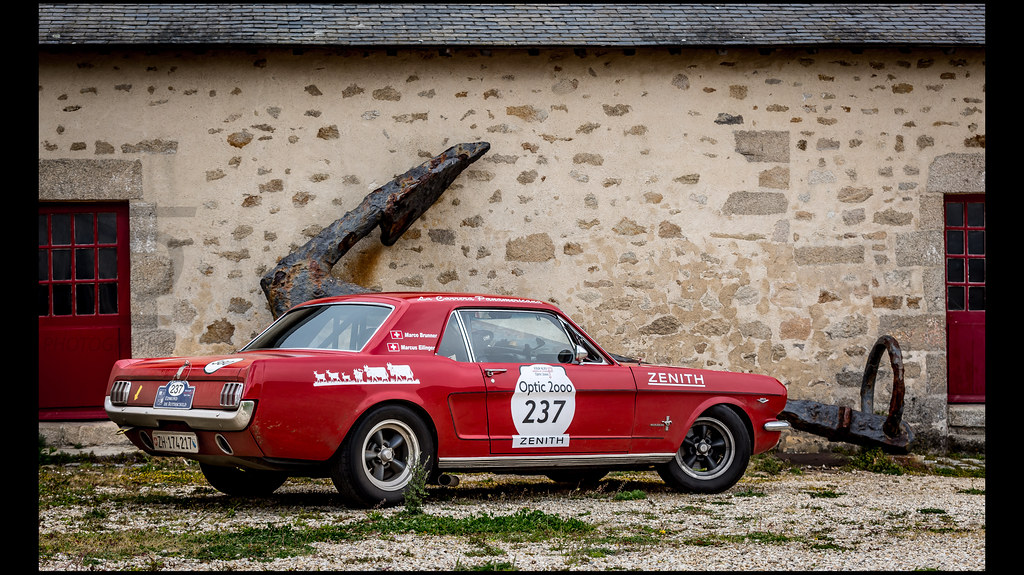 Ford Mustang 289 (1965) | Marco BRUNNER (CHE) / Marcus EILIN… | Flickr