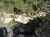 Chemin du Carciara RD : les vasques de la confluence Carciara/Peralzone au départ de la sente de descente