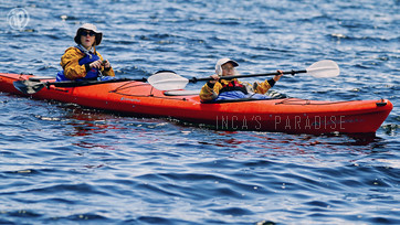 Kayaking on Titicaca