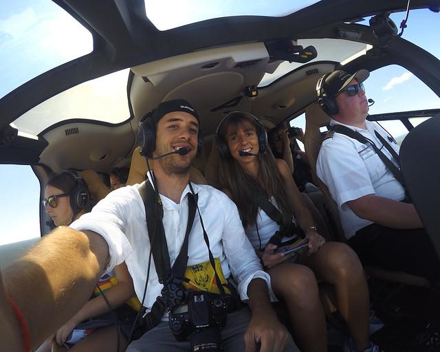 Diario de un Mentiroso en un vuelo en helicóptero por el Gran Cañón de Colorado