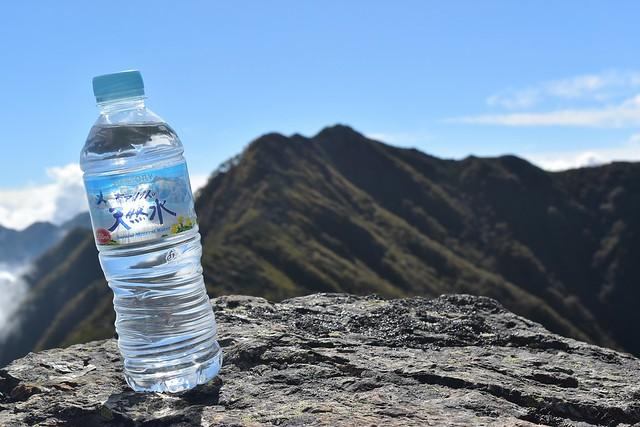 南アルプスの天然水@栗沢山