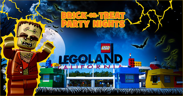 Brick or Treat Party Nights LEGOLAND California Resort