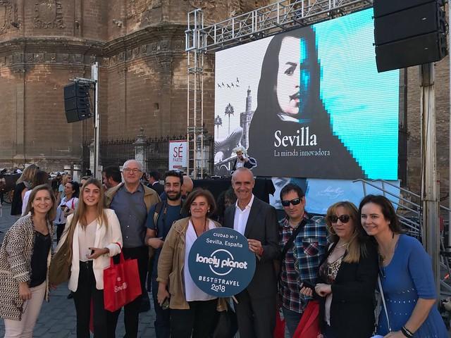 Celebración de Sevilla Best in Travel 2018 Lonely Planet