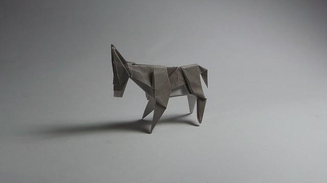 Origami Donkey Photos On Flickr Flickr
