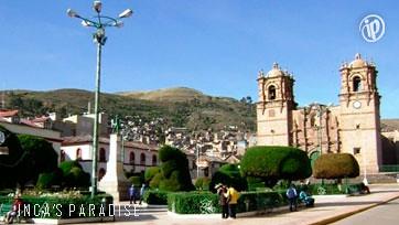 Plaza principal - Puno