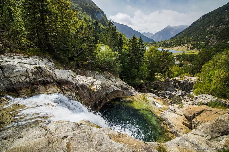 Marmita de gigante de la cascada del Sant Esperit
