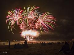 Fireworks from Scheveningen