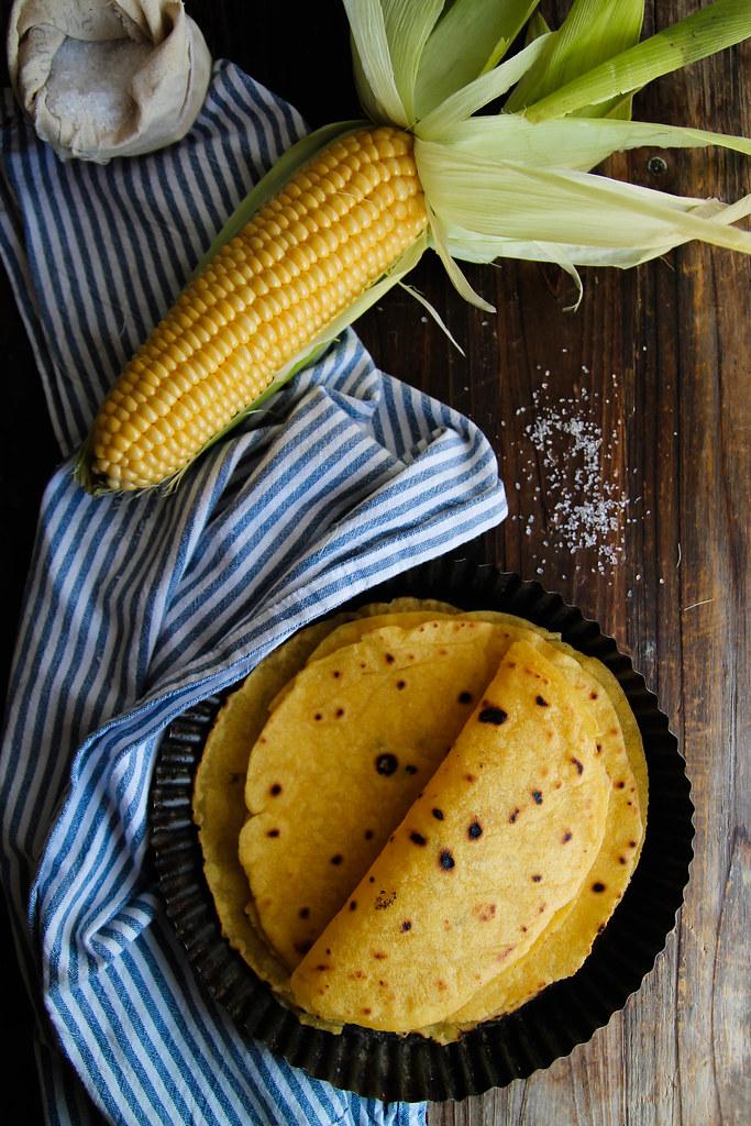 recette de Tortilla de maïs