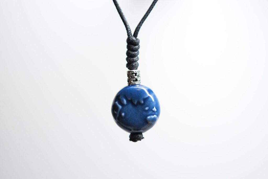 愛地球陶珠-洋流藍