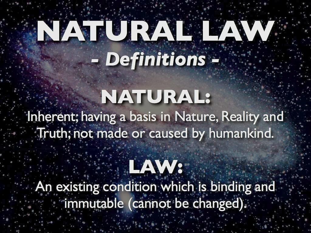 Luật Tự Nhiên Và Đối Thoại Văn Hóa