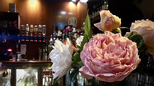 antique roses at the alex the back bar of the alexandra. Black Bedroom Furniture Sets. Home Design Ideas