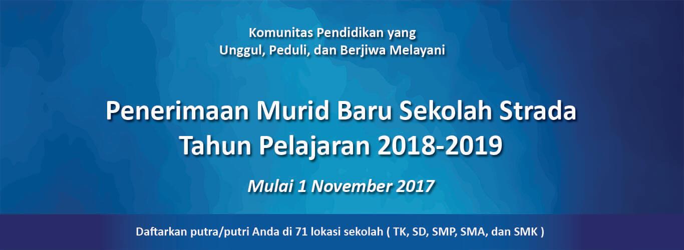 1 Nov 2017: Pembukaan Pendaftaran Murid Baru
