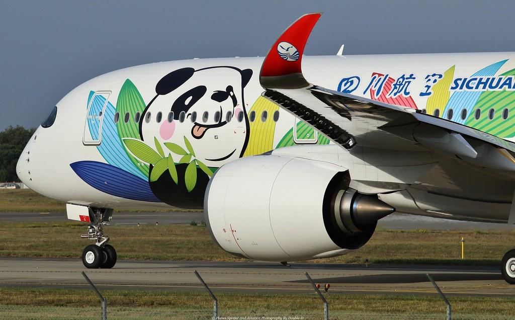 Resultado de imagen para Sichuan Airlines A350-900