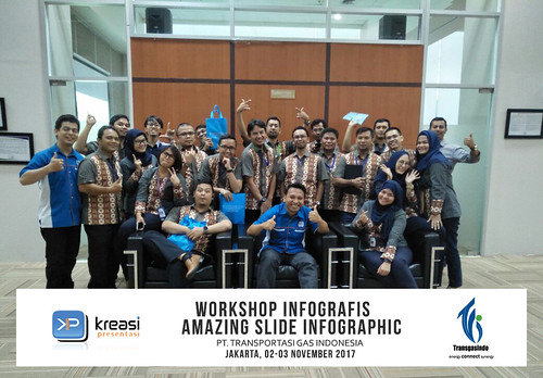 Workshop Infografis Amazing Slide Infographic w/ PT. Transporatsi Gas Indonesia | by dhonyfirmansyah