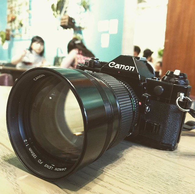 Canon FD 135mm f2 輕巧虎蹲炮
